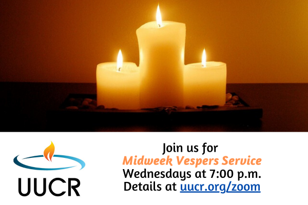 Join us for our Midweek Vespers Service