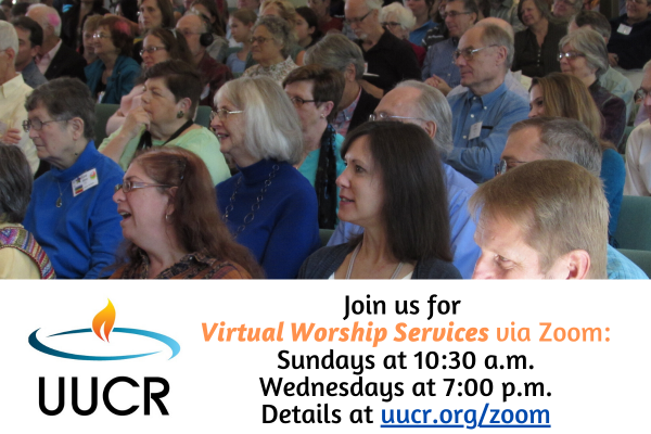 Join us for Online Worship Services via Zoom!