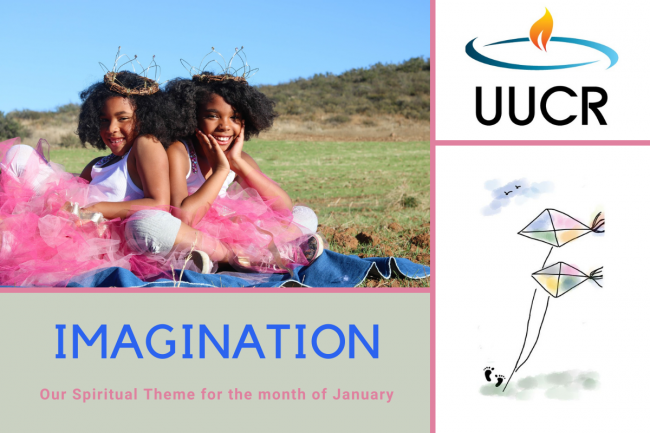 Imagination: Our Spiritual Theme for January 2021